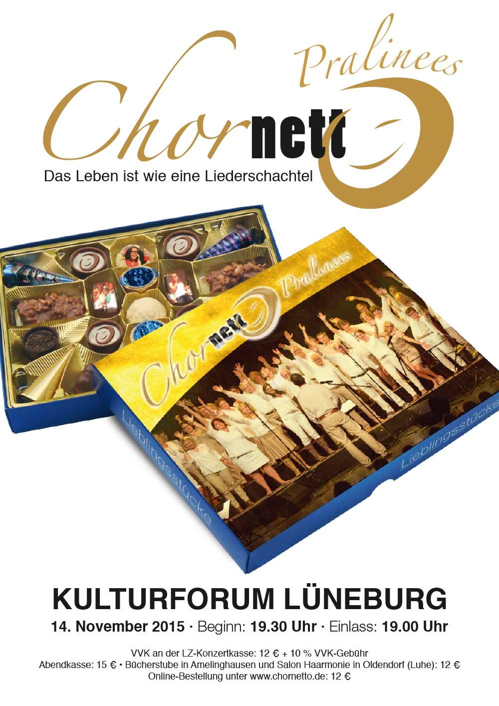 Plakat Chorkonzert