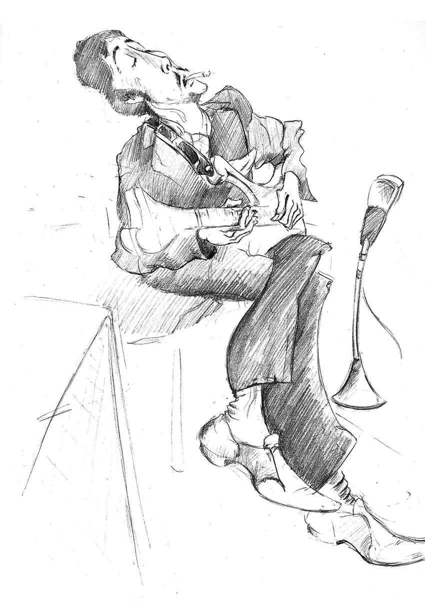 Illustration Karikatur