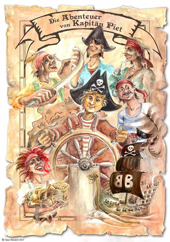 Cover Piratengeschichte