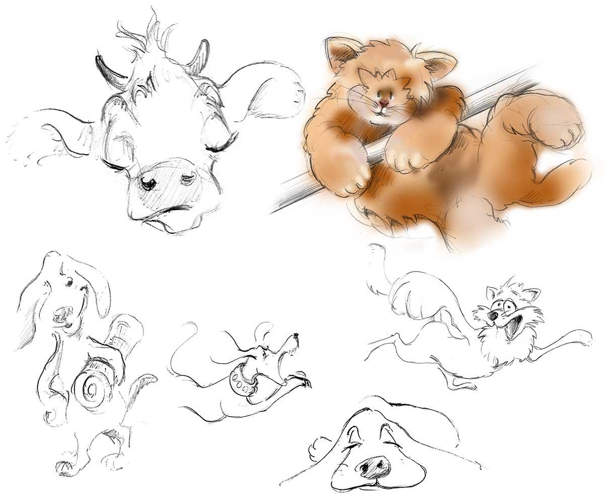 Tierillustrationen